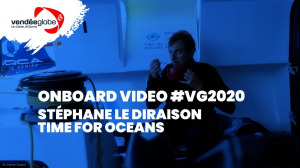 Onboard video - Stéphane LE DIRAISON | TIME FOR OCEANS - 13.01 (2)