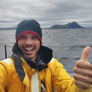 For his second Vendée Globe, Didac has once again passed Cape Horn!