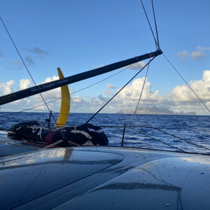 Armel continues his ascent of the Atlantic, his objective? Entering the top 10