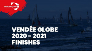 Arrival of Yannick Bestaven and Thomas Ruyant ; Channel Charlie Dalin Vendée Globe 2020-2021 [EN]