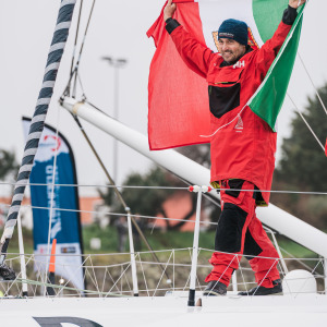 Giancarlo Pedote achieves the best performance of an Italian on a Vendée Globe