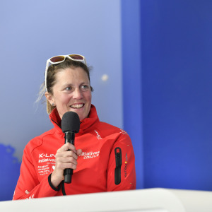 Sam's press conference after his arrival in Les Sables d'Olonne