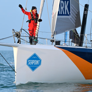 Ari Huusela finishes the Vendée Globe after 116d 18h 15min 46s of racing