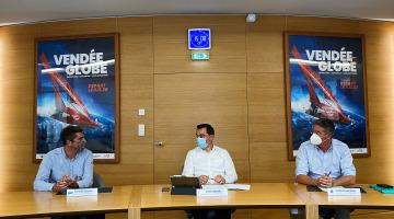 Conférence de presse de lancement de la Vendée Arctique - Les Sables d'Olonne 2022