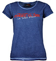 Tee-shirt Harbour Washed-out blue