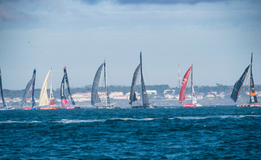 Race start Vendée Globe 2020